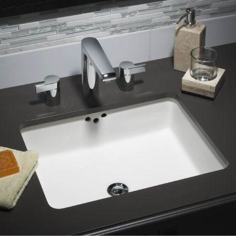 American Standard Boxe Under Counter Sink L/Holes   Wht