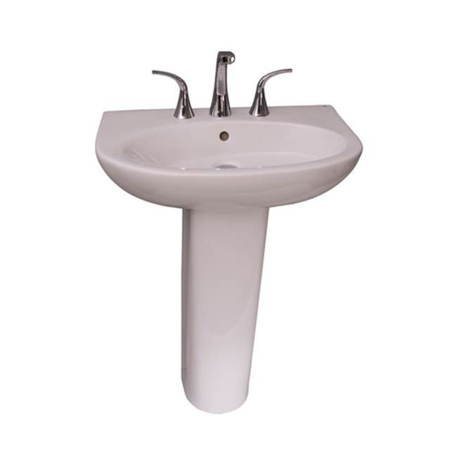 Barclay Infinity 600 Basin, 1 hole White