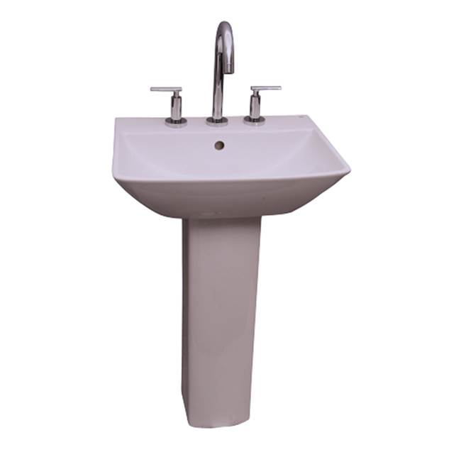 Barclay Summit 500 Basin, 1 hole White
