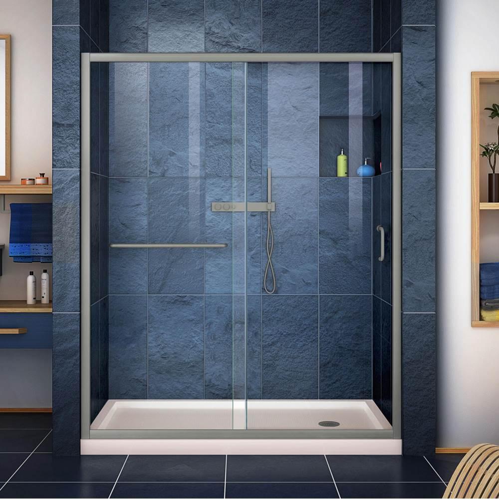 Shower Door Shower Doors Nickel Tones Aaron Kitchen Bath Design