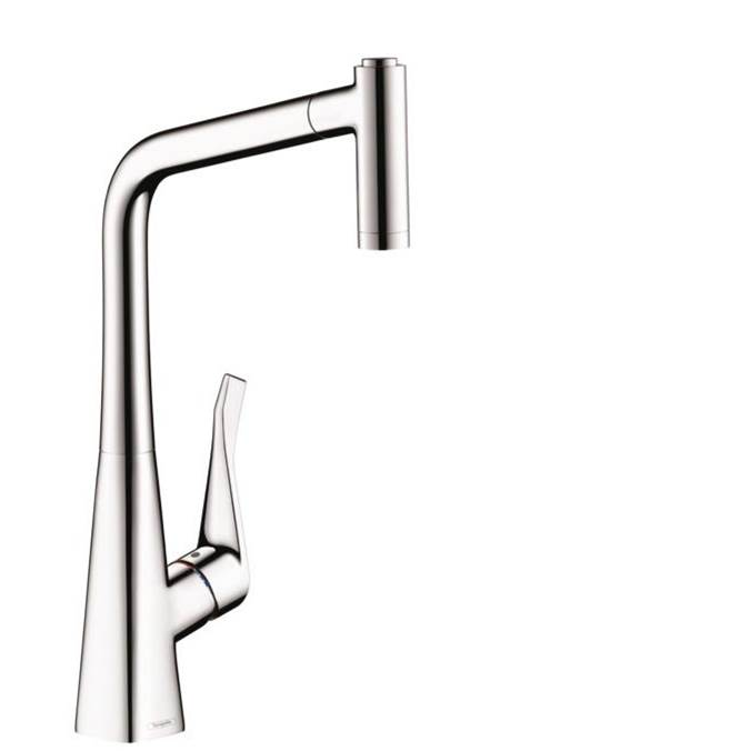 Hansgrohe Metris Higharc Kitchen Faucet, 2-Spray Pull-Out, 1.75 Gpm In Chrome