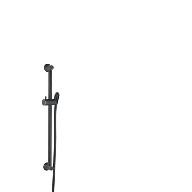 Hansgrohe Unica Wallbar Classic, 24'' In Rubbed Bronze