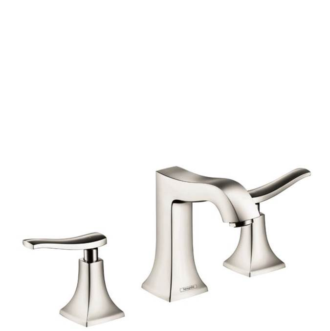 Hansgrohe Metris C Widespread Faucet 100 With Pop-Up Drain, 1.2 Gpm In Polished Nickel
