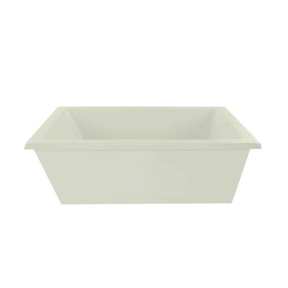 Hydro Systems Lexie, Freestanding Tub Only 66X36 - -Biscuit