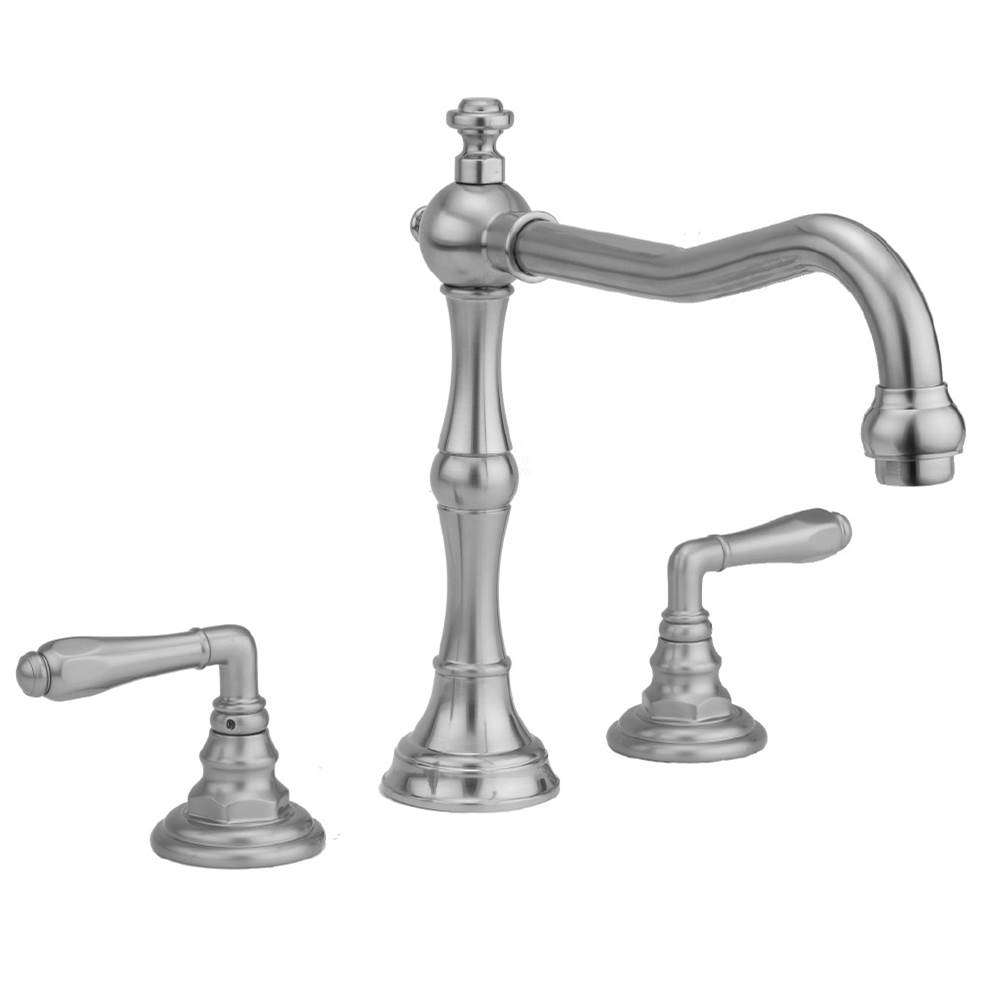 Jaclo Roaring 20''s Roman Tub Set with Smooth Lever Handles