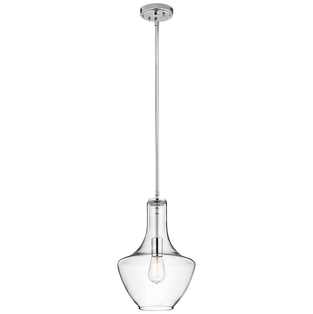 Kichler lighting 42141chclr at aaron kitchen bath design for Kichler kitchen pendant lighting