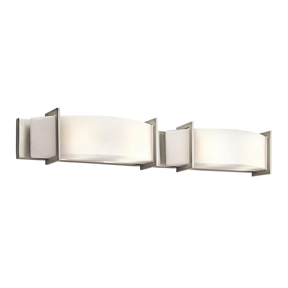 Contemporary bathroom vanity lights -  795 00 45221ni Kichler Lighting Linear Bath 39in Brushed Nickel Vanity Lighting