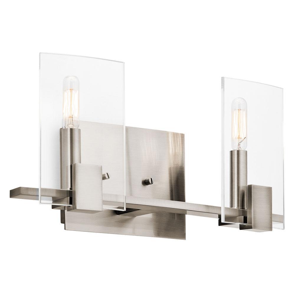Bathroom Light Fixtures Kichler bathroom lights lighting | aaron kitchen & bath design gallery