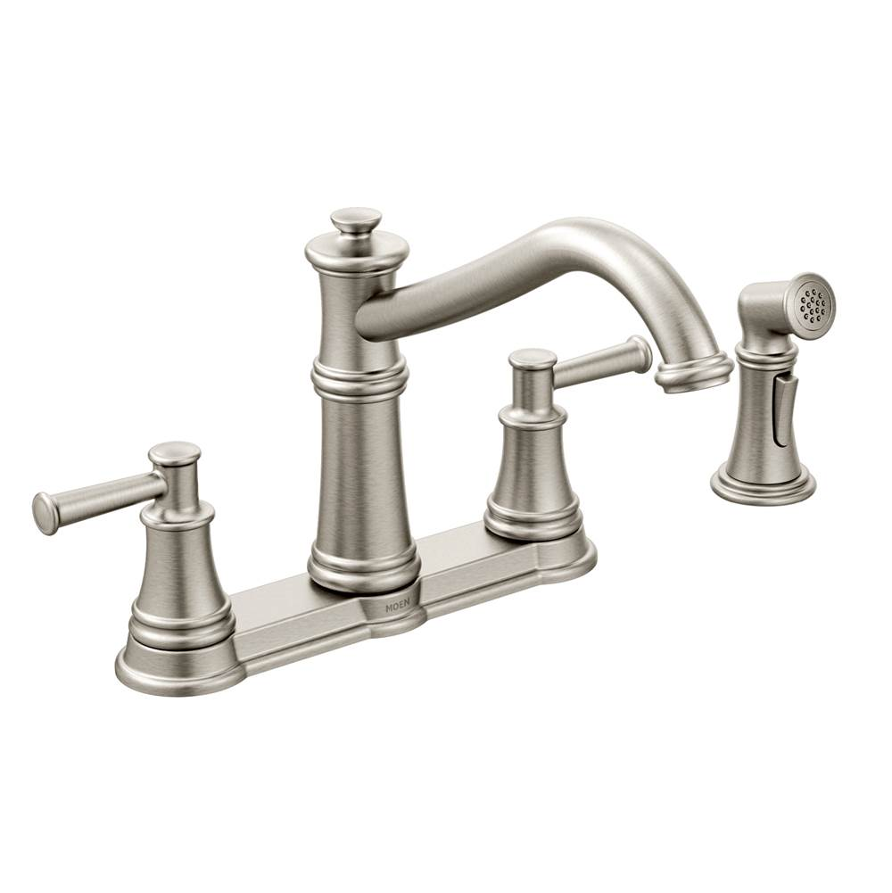 Moen Spot resist stainless two-handle kitchen faucet