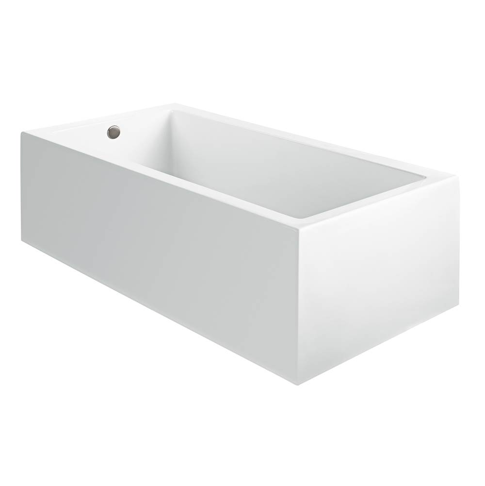 MTI Baths 60X32 SCULPTED 3 SIDES WHITE AIR BATH Andrea 6A