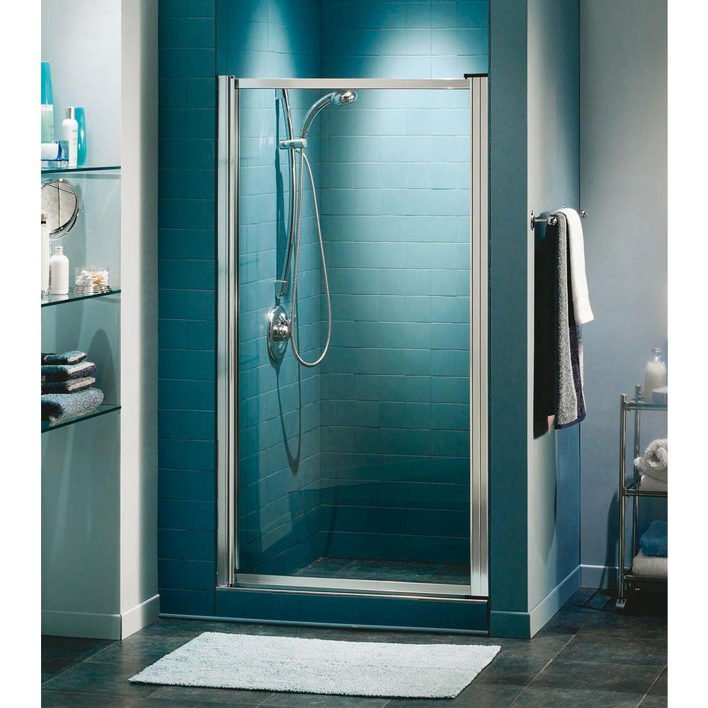Shower door Shower Doors White | Aaron Kitchen & Bath Design Gallery ...