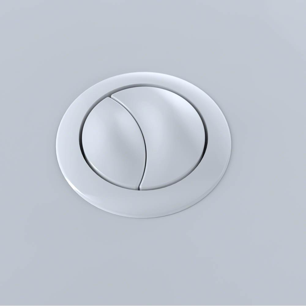 Toto AQUIA 1PC PUSH BUTTON CST654 53MM - COTTON WHITE